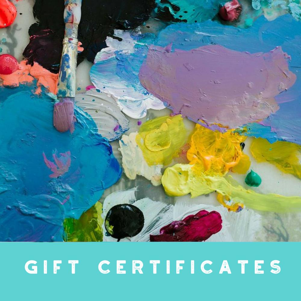 Annamieka Davidson Gift Certificates