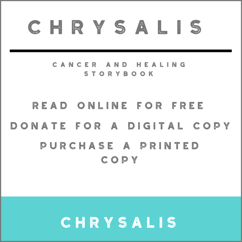 Annamieka Davidson Chrysalis Cancer and Healing Storybook