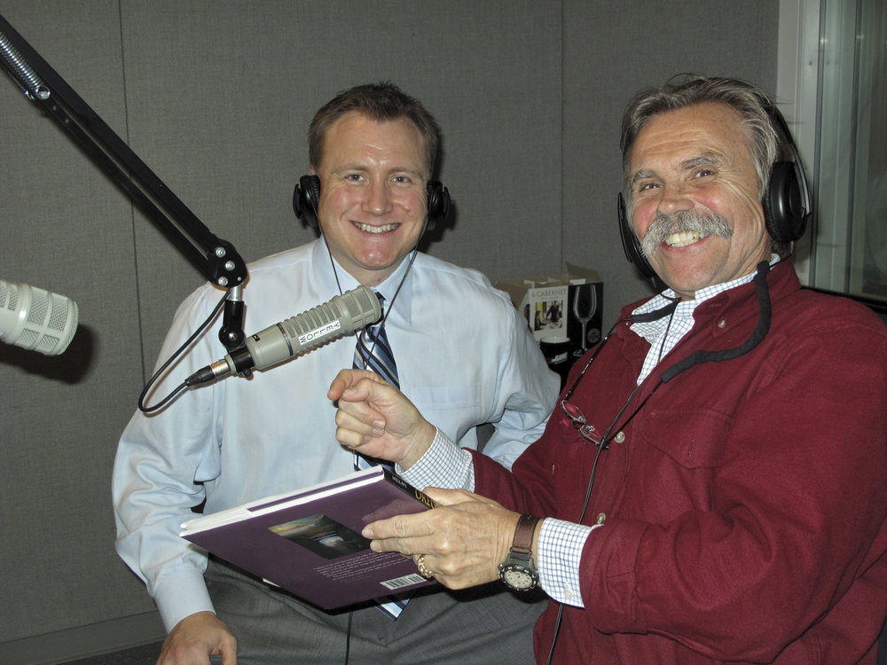 - I was so happy to have made it through the first of many live radio interviews about my second wine-related book, Oregon The Taste of Wine. While the book won all kinds of awards—like a gold medal for best regional book in North America, several international awards and Wine Spectator magazine called it