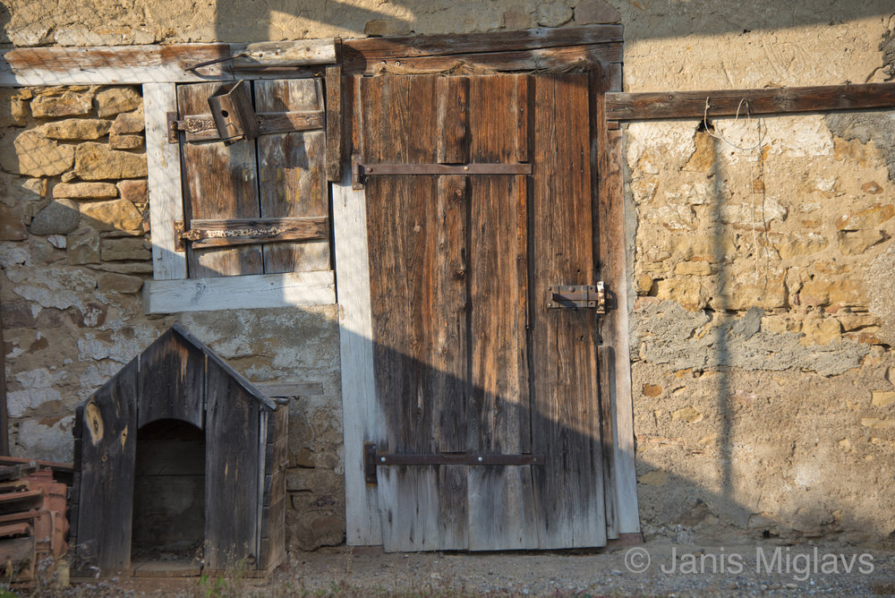 France Rustic Equisheim Door