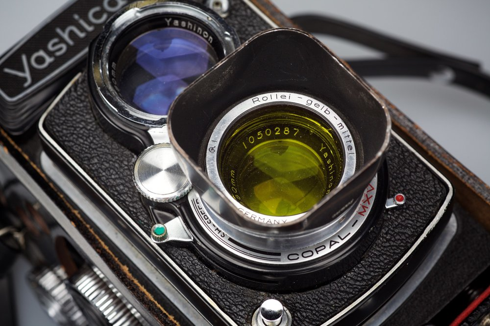 Yashica D Twin lens 120 roll film camera