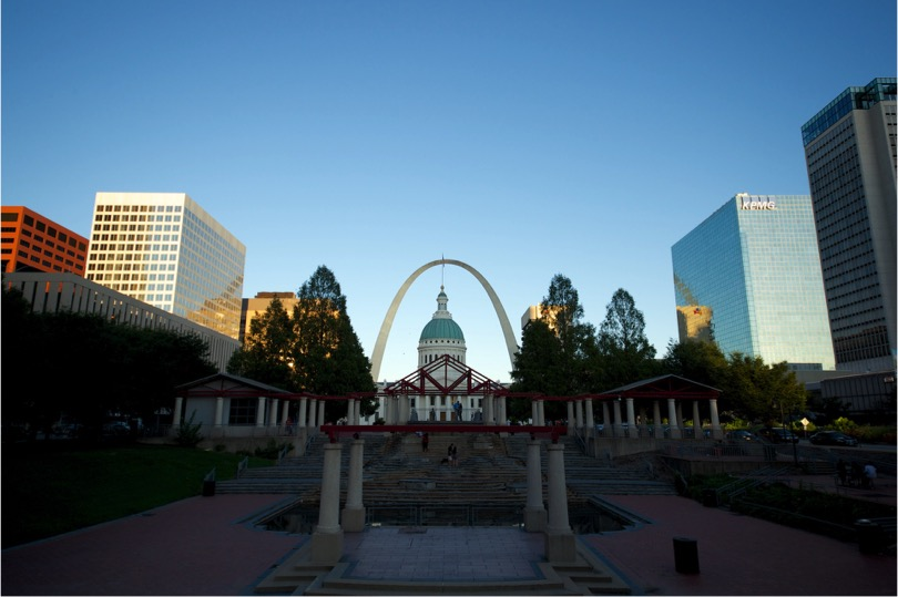 View of the old Kiener Plaza with 16mm on APS-C crop sensor camera