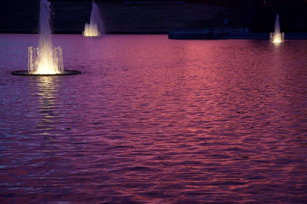 Twilight on the Grand Basin.