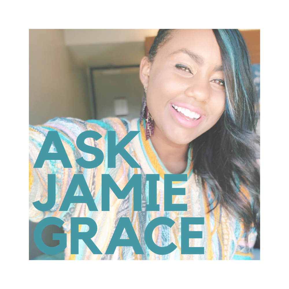 Suggested: ALL Ages!    Ask Jamie Grace:  On each episode, Jamie Grace candidly answers questions from fans ranging in topics from songwriting to friendship advice to moving into college. Wondering about something? Ask Jamie Grace!