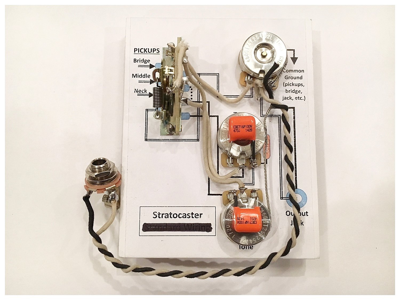 Staytuned Custom Shop Tele Wiring Harness Stratocaster Tone Split Mod