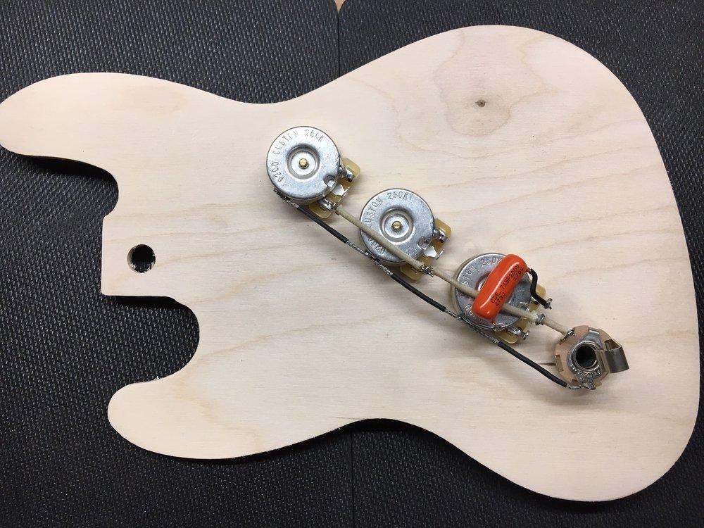 staytuned custom shop Bass Guitar Starter jazz bass wiring harness