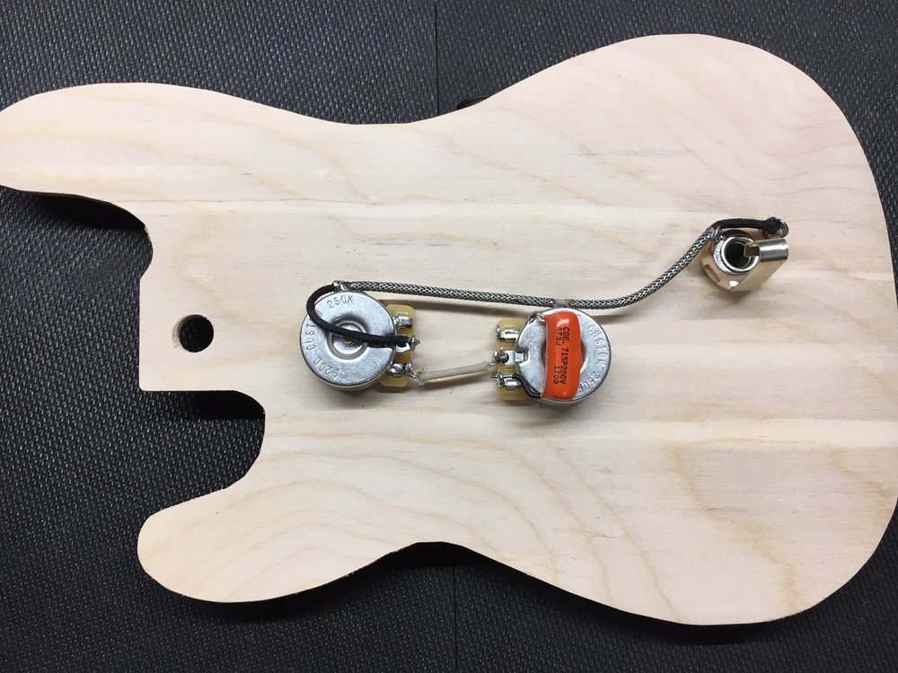 Precision Bass Wiring Harness