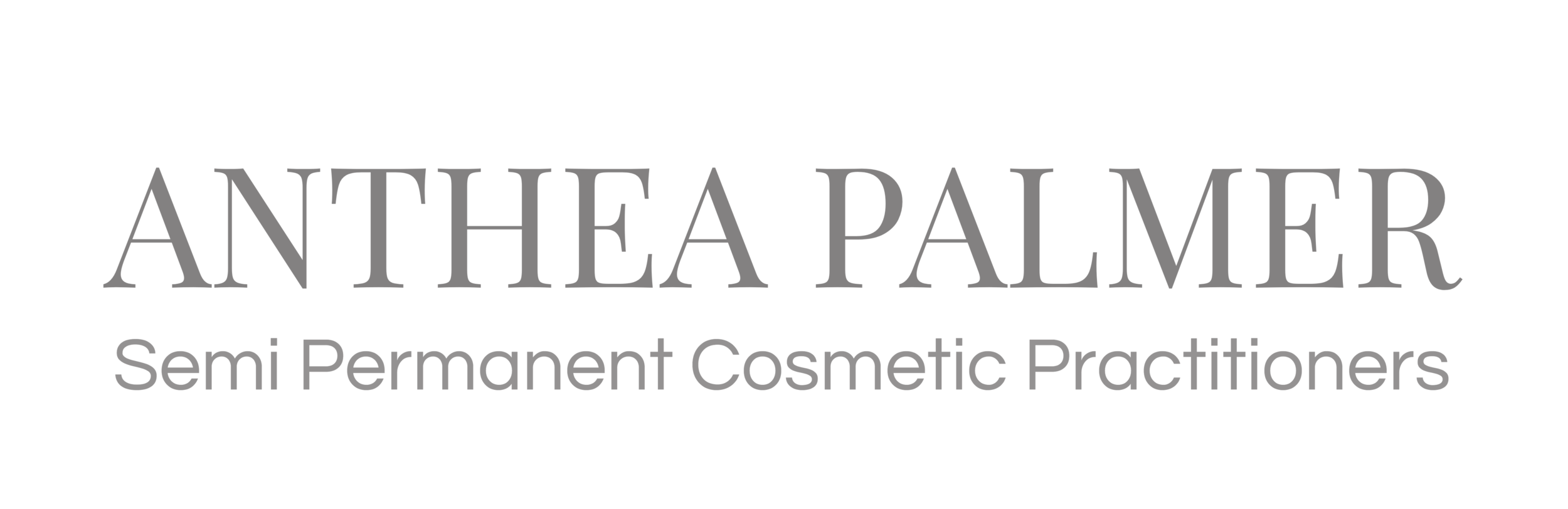 ANTHEA PALMER | Semi Permanent Cosmetic Practitioners