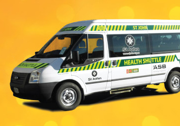 ST JOHN HEALTH SHUTTLE  Is now available for those attending medical appointments between 10.45am and 2pm in Christchurch. If you are able to get yourself to Amberley but are not so confident driving to/in town, you can book on  0800 383 373  by 3pm the day before.