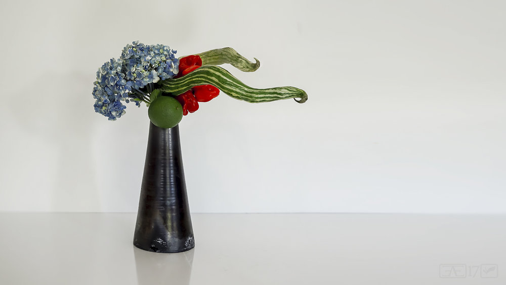 Morimono - arrangement using fruit and vegetables