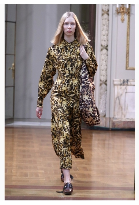 Source - http://www.vogue.co.uk/gallery/autumn-winter-2018-nyfw-animal-print-trend