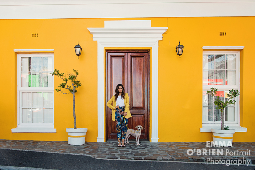 Cape Town dog portraits Bo Kaap