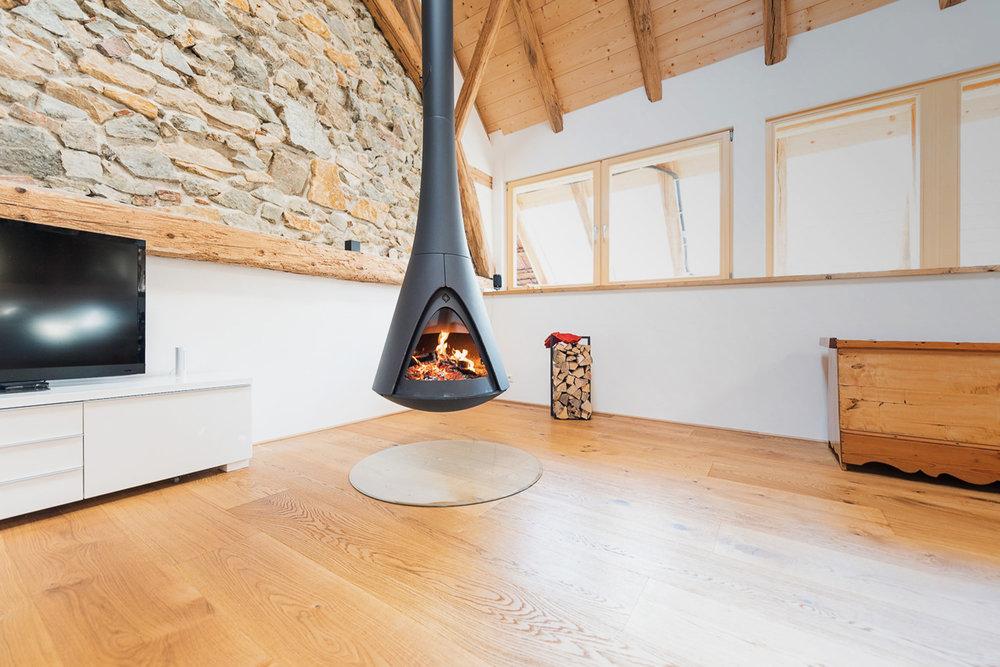 Kaminöfen - Athmosphäre fürs Wohnzimmer