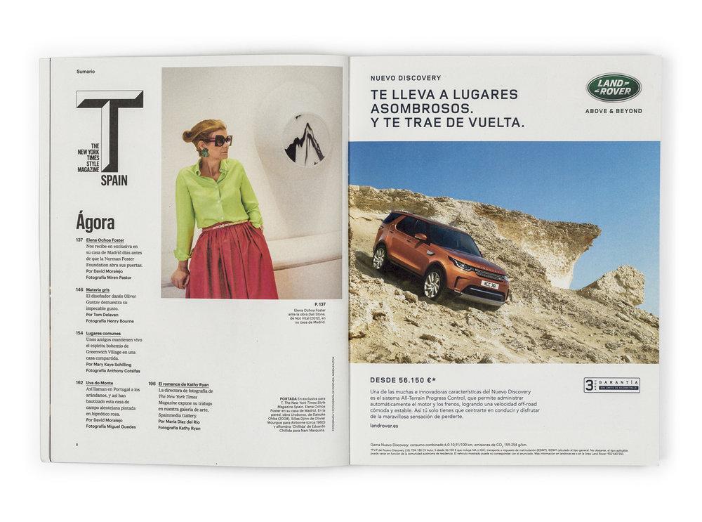 Elena Ochoa Foster_T Magazine