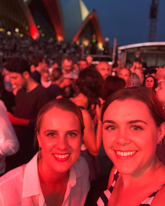 Ready for The National with @zoey18. #thenational #sydneyoperahouse ✨