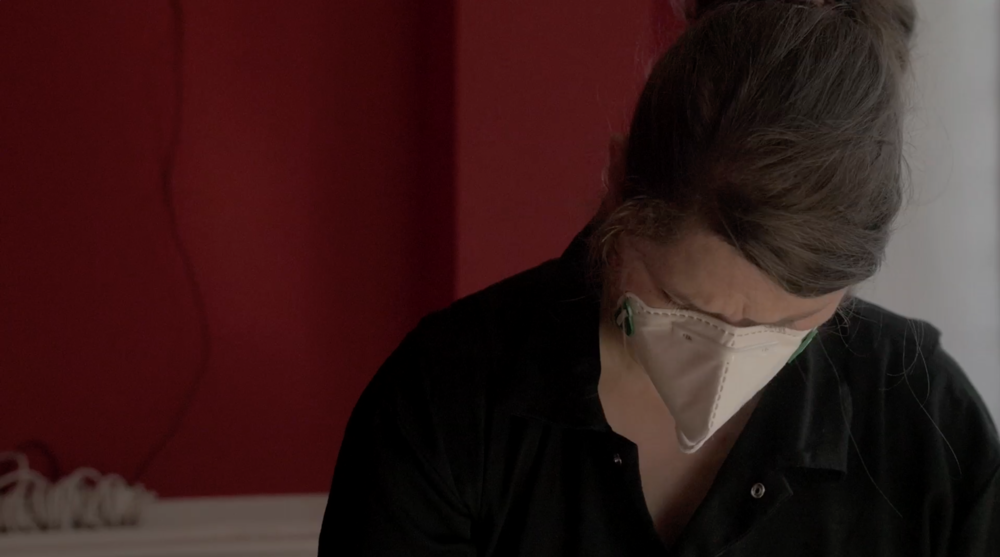 Catherine Bertola in the Crafts Council film 'Acts of Making'