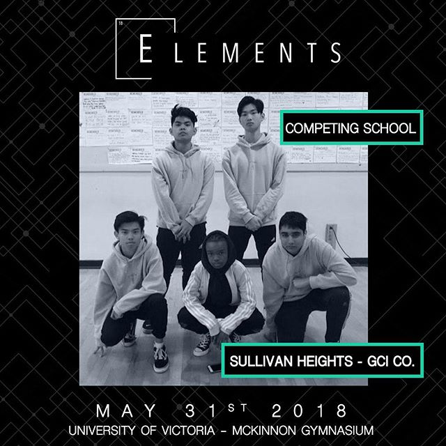 Category: Student Choreo Hip Hop Entry: GCI. CO 📍:@universityofvictoria 📧:info@elementscompetition.com Tickets: LINK IN BIO #Elements2018