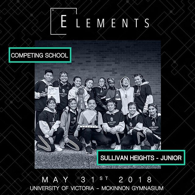 Category: Junior Hip Hop Entry: JUNIOR JIGGLES 📍:@universityofvictoria 📧:info@elementscompetition.com Tickets: LINK IN BIO #Elements2018