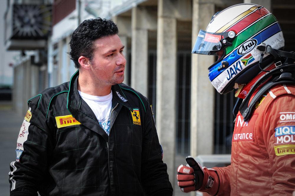 Nicholis Louw & Jaki Scheckter