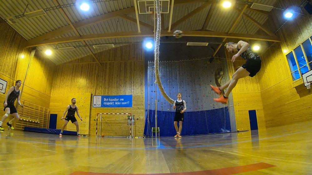 Markus H. Haven/Brynjar Håland vs Andreas Kvåle/Henrik Seim i semifinalen