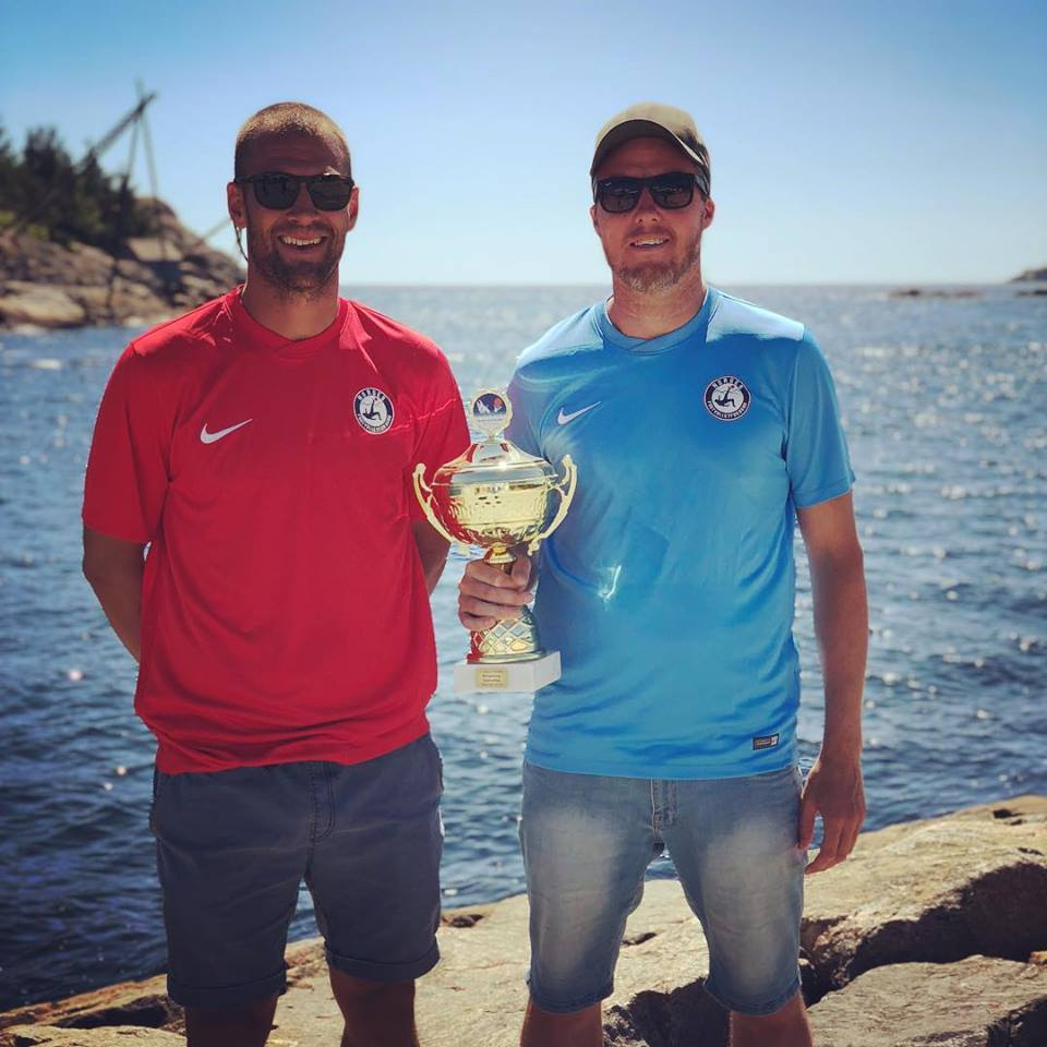 Vinnere: Magnus Hunemo og Kristoffer F. Aarskog