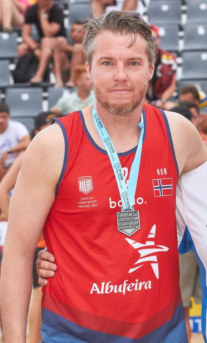 Vinner av Gullballen 2018, Kristoffer F. Aarskog.