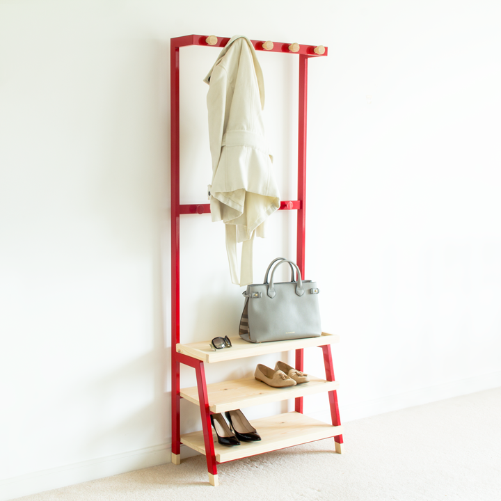 Pima Coat rack