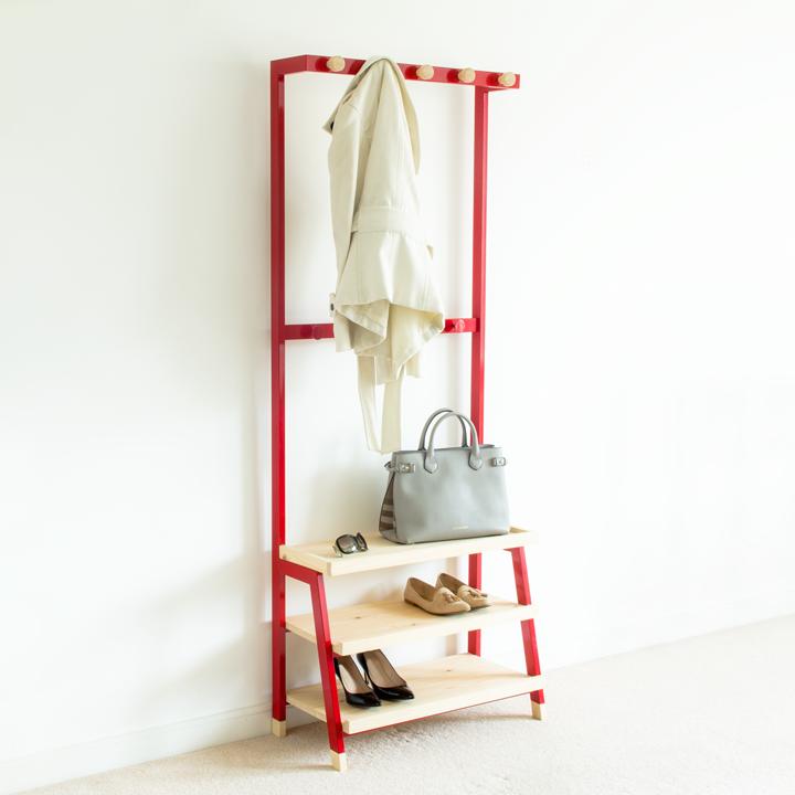 Pima Coat rack