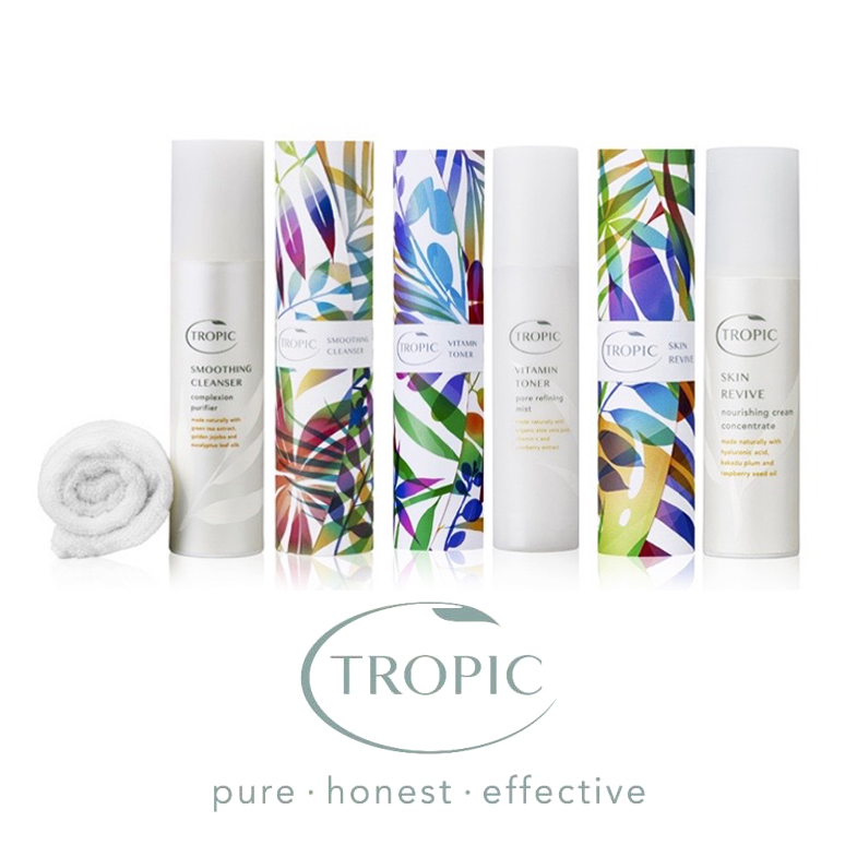 <p><strong>Tropic</strong>Honest & effective<i>Shop →</i></p>