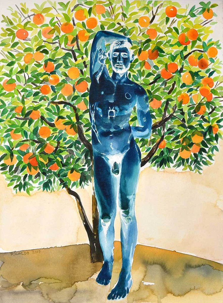 DAVID UNDER THE ORANGE TREE