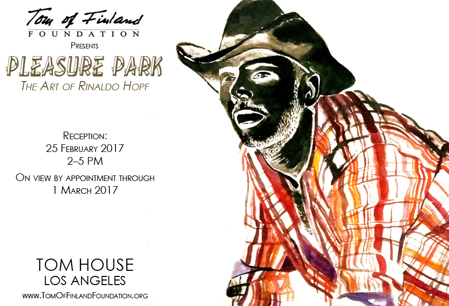 PLEASURE PARK EXHIBITION POSTER LOS ANGELES 2017