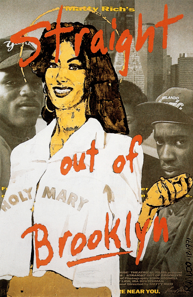 HOLY MARY / STRAIGHT OUT OF BROOKLYN