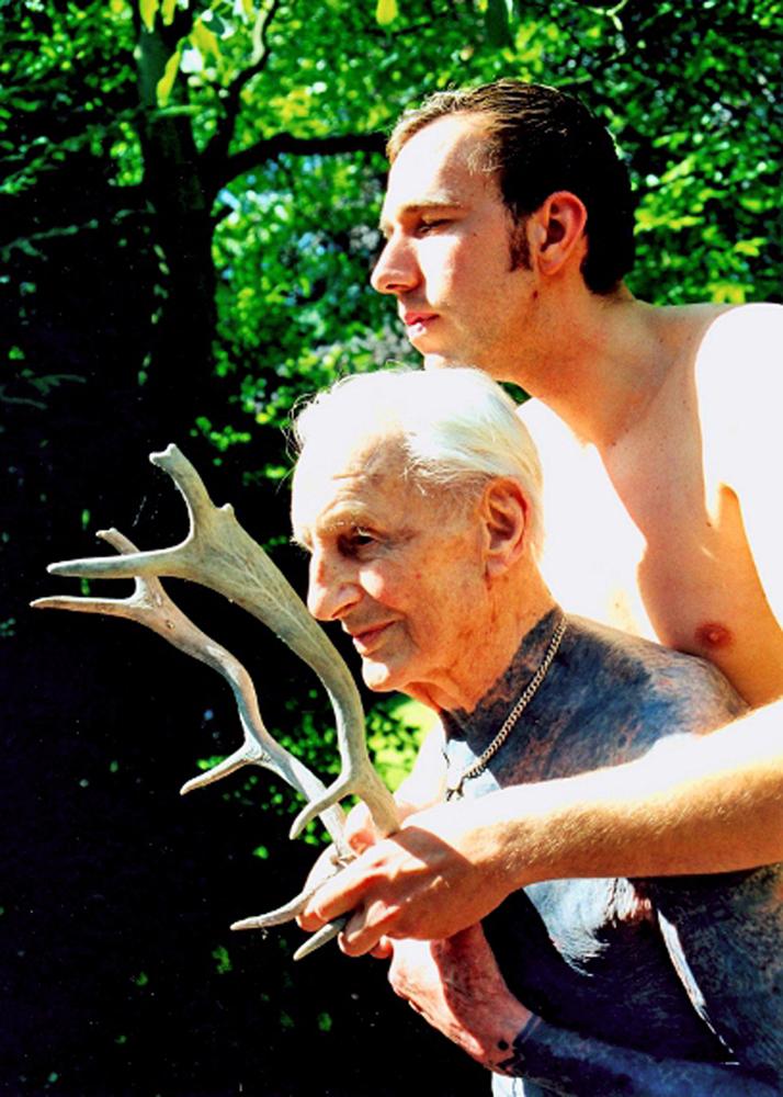 ALBRECHT BECKER, TATTOO ARTIST & FRIEND, HAMBURG 2001