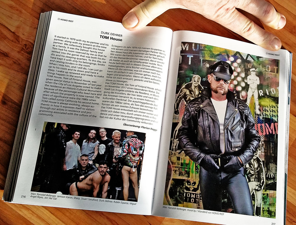 MEIN SCHWULES AUGE / MY GAY EYE - TOM OF FINLAND FOUNDATION SPECIAL - SAMPLE PAGES