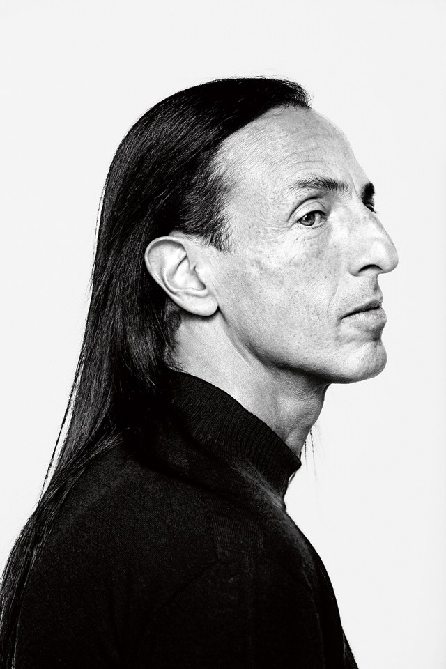 """RICK OWENS - The California-born fashion and furniture designer Rick Owens has developed a unique style that he describes as """"luxe minimalism."""" As has been the case with many American icons, the French were among the first to recognize Owens's distinctive, Goth flair. Former Vogue Paris editor Carine Roitfeld was an early adopter, and (tellingly) she's frequently photographed in a Rick Owens coat that's been in her closet for at least five seasons."""