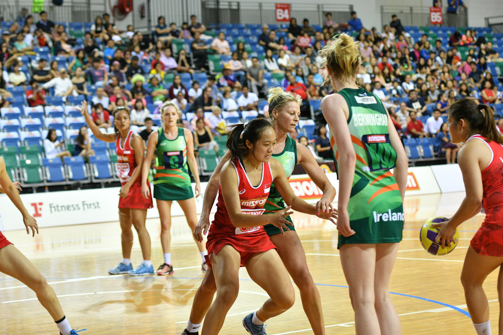 Team Singapore played well and put up a good fight against Team Ireland!