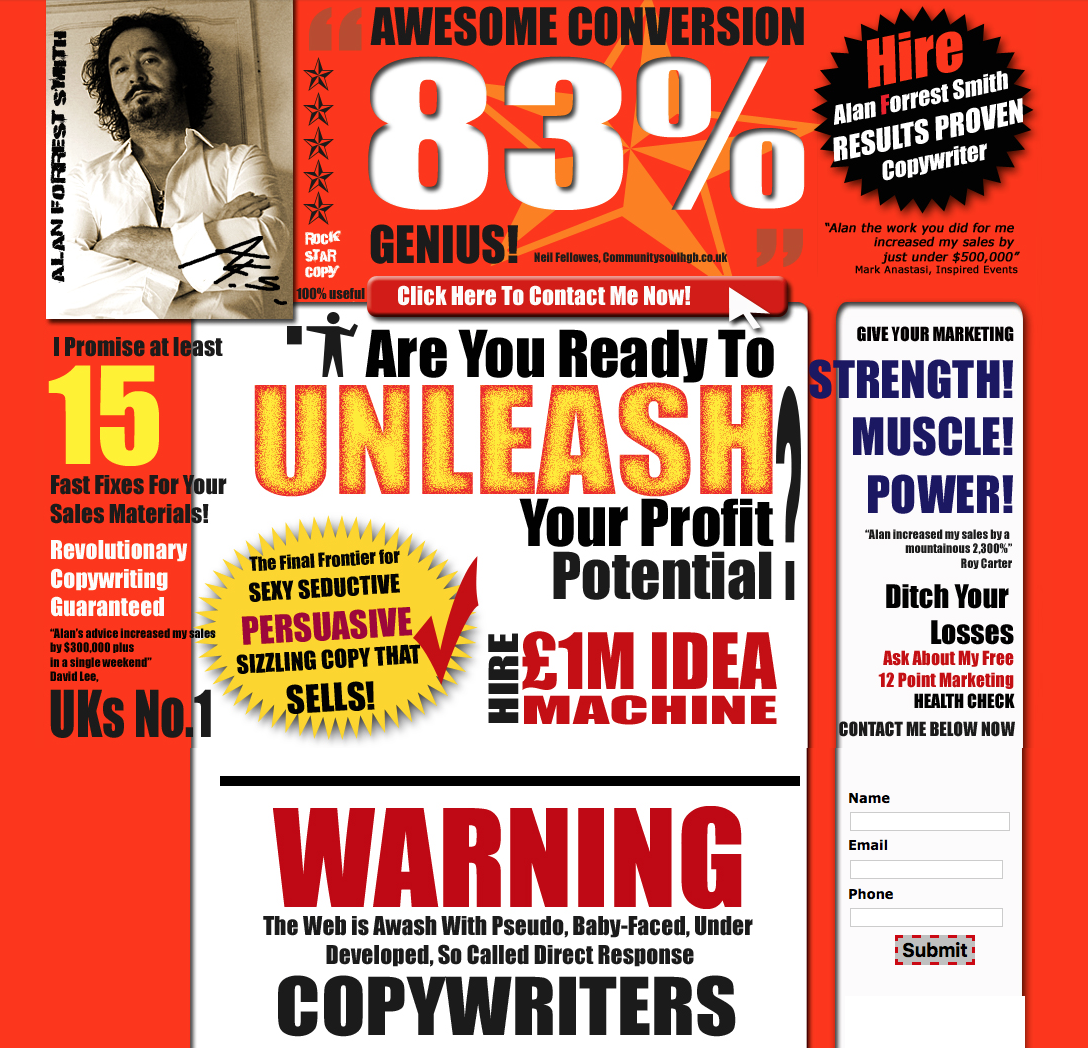 Direct Marketing Copywriter