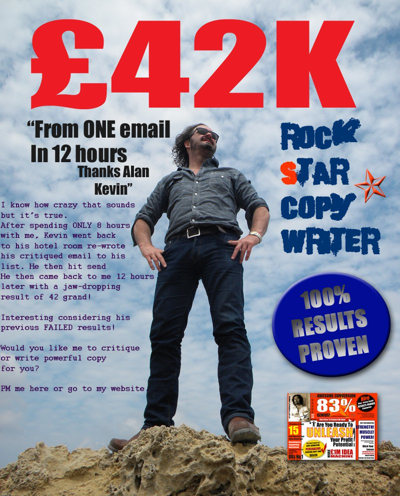 £42,000 in 12-hours - Alan's a genius, Kevin Lewis
