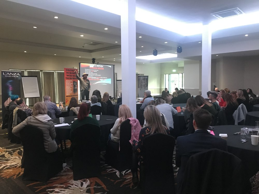 ME SPEAKING AT A RECENT FULL DAY TRAINING IN BIRMINGHAM 2019 FOR 70 BUSINESS OWNERS.Below is a short video from that same event.