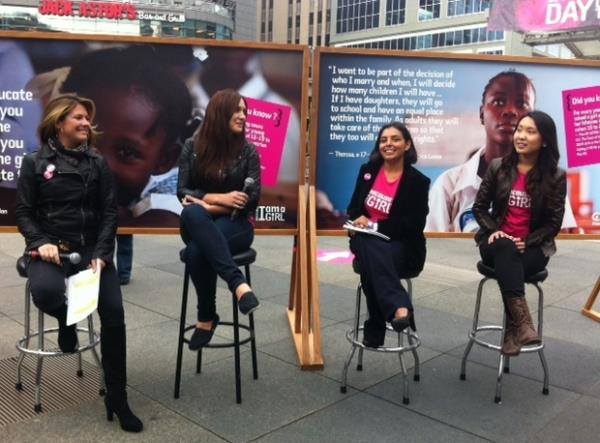 LAUNCHED PLAN CANADA's INTL DAY OF THE GIRL CHILD WITH SOPHIE TRUDEAUTORONTO, CANADA (2012) -