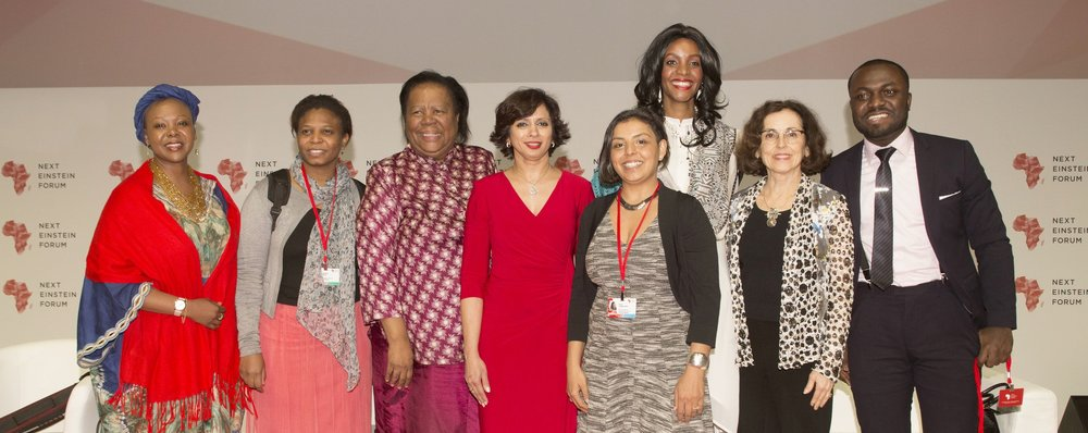 ORGANIZED HIGH PROFILE WOMEN IN STEM PANEL AT NEXT EINSTEIN FORUM (NEF)DAKAR, SENEGAL (2016) -