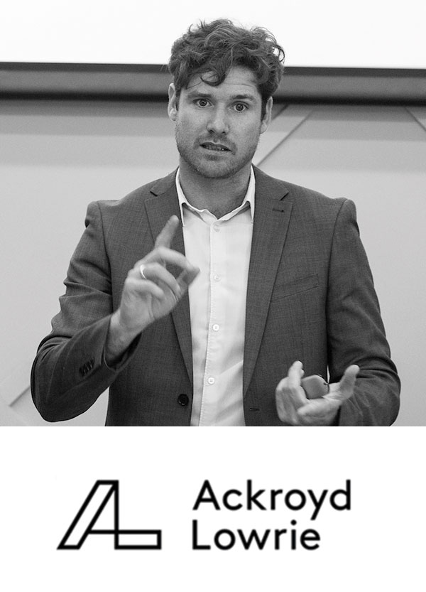 Oliver Lowrie  Director, Ackroyd Lowrie