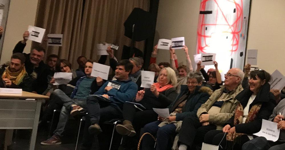 Conseil communal de Genappe, 27 février 2018, les habitants se mobilisent CONTRE le texte du MR