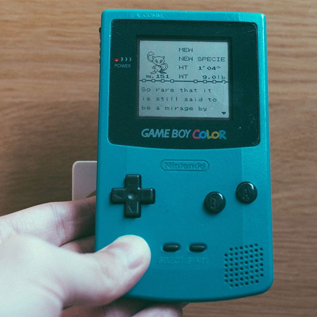 Finally did what I could never do as a child, and caught a mew for the first time ever 😂  #pokemon #gottacatchemall #pokedex #151 #gameboycolor #retrogaming #glitch #pokemonred #achievement #mew  #pokémon #catchemall #nostalgia #90snostalgia #90sgaming #90sstyle #🎮