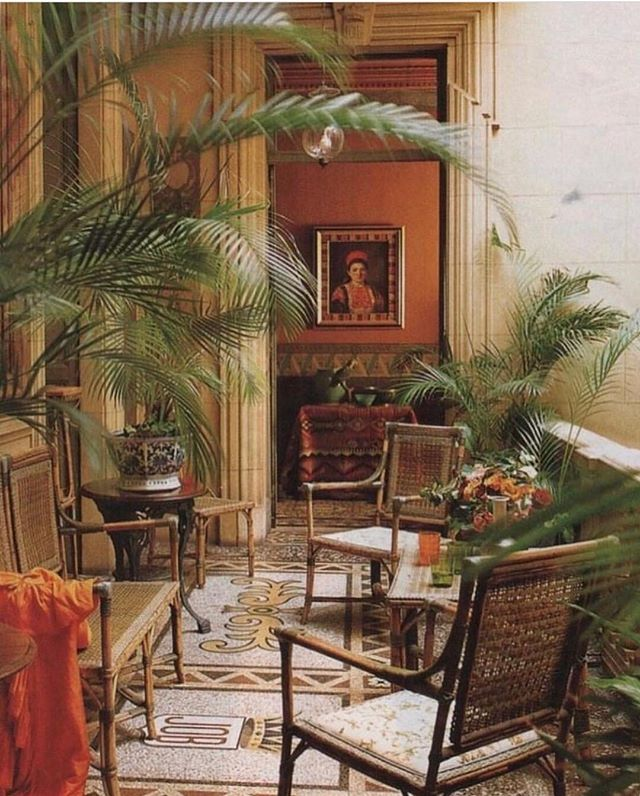 what: apartment of françoise and henri quinta where: perpignan, france, as seen in @elledecor why: because sunday morning daydreams