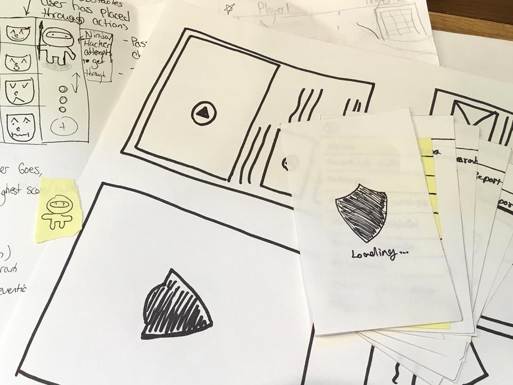 IdentityForce Mobile App Paper Prototypes