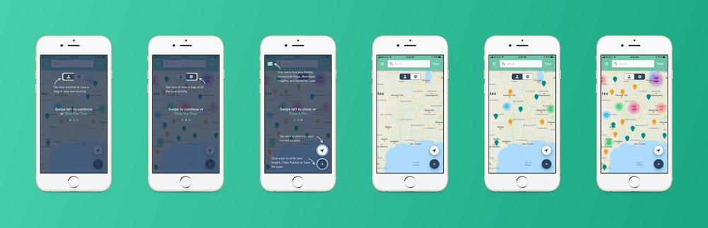 Relola iOS App Selected Screens