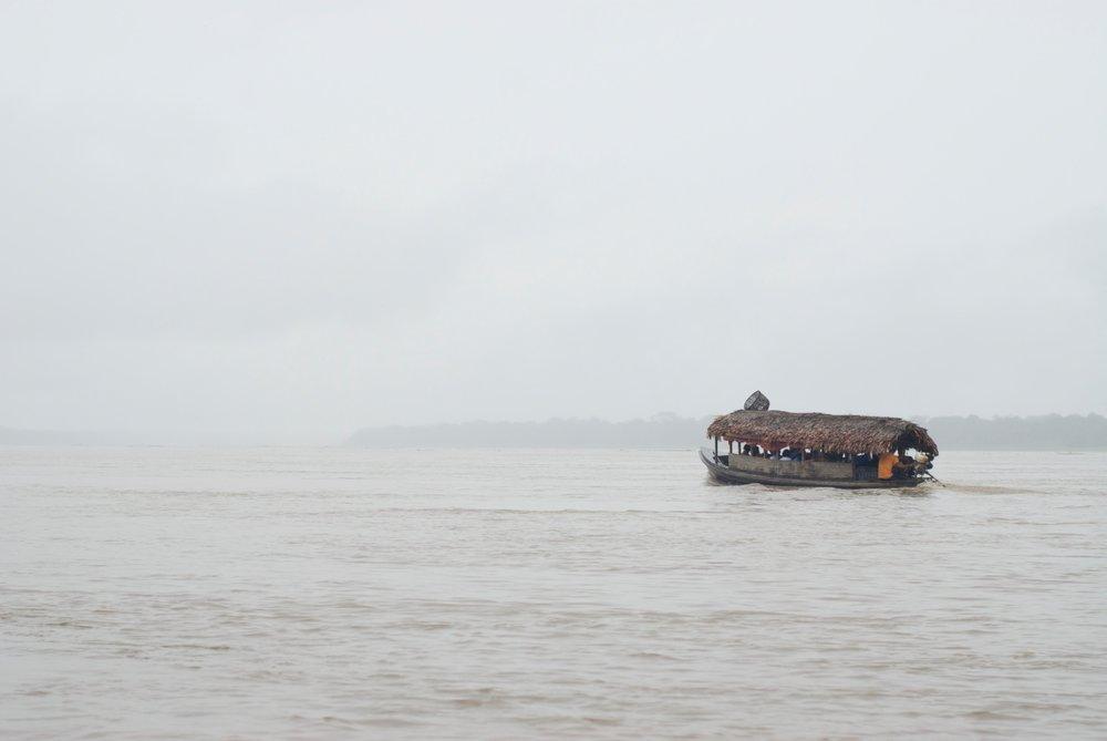 El río Amazonas, Loreto, Peru
