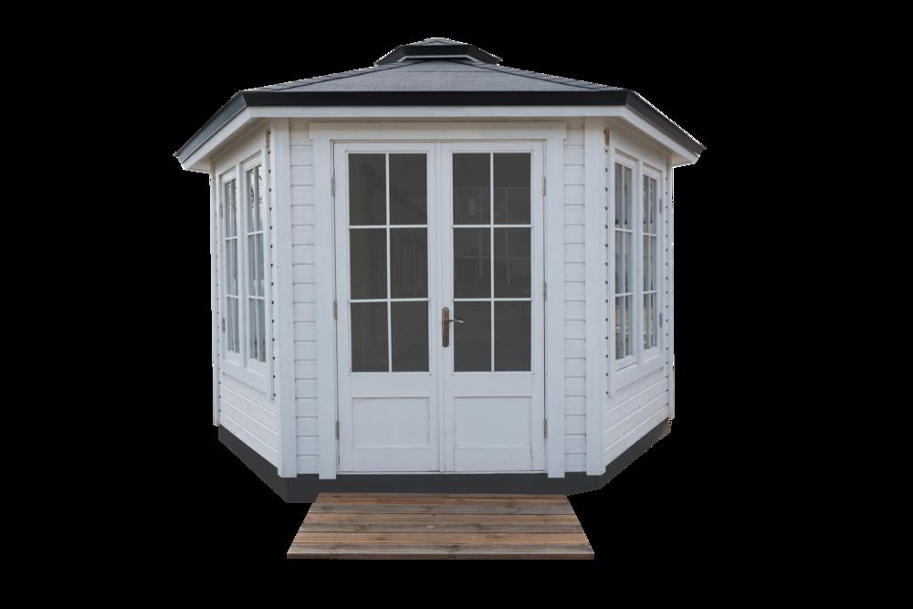 .... Garden house (hexagon, factory set) .. Dārza māja (sešstūra) ....