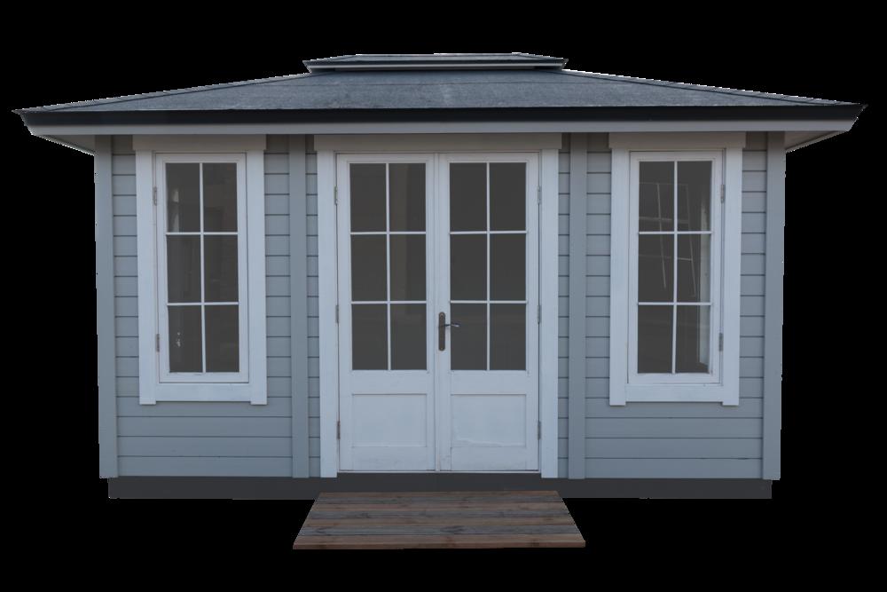 .... Garden House (rectangle, factory set) .. Dārza māja (taisnstūra) ....